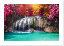 Waterfalls Art Print 224470854