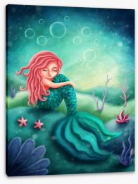 Under The Sea Stretched Canvas 225563919