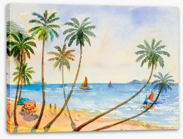 Beaches Stretched Canvas 225640070
