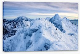 Mountains Stretched Canvas 226370865