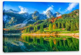Mountains Stretched Canvas 226598688