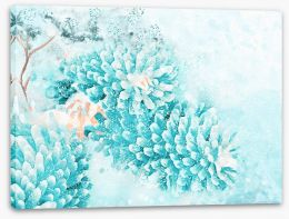 Winter Stretched Canvas 227129226