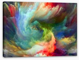 Abstract Stretched Canvas 227705531