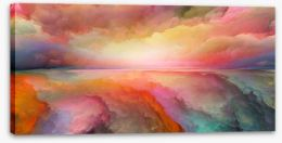 Abstract Stretched Canvas 228889492