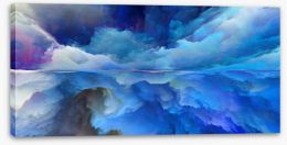 Abstract Stretched Canvas 230137324