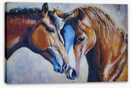 Best of mates Stretched Canvas 23014589
