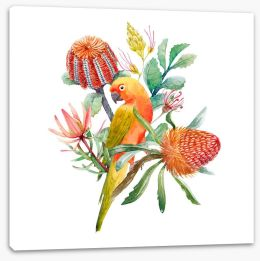 Birds Stretched Canvas 231373885