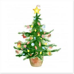 Christmas Art Print 231908967