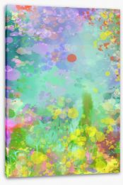 Abstract Stretched Canvas 232398530