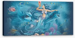 Under The Sea Stretched Canvas 232538272