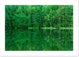 Lakes Art Print 235562324