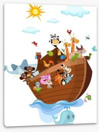 Animal Friends Stretched Canvas 23597040