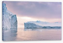 Glaciers Stretched Canvas 238965551