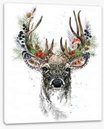 Forest reindeer Stretched Canvas 239121800