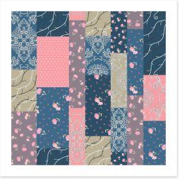 Patchwork Art Print 239637952
