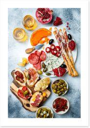 Food Art Print 243397764