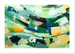 Abstract Art Print 243894322