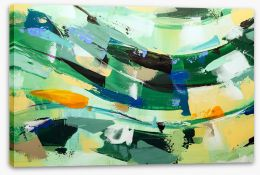 Abstract Stretched Canvas 243894322
