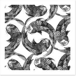 Black and White Art Print 244321243