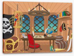 The captain's cabin