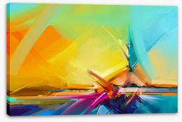 Abstract Stretched Canvas 245292688