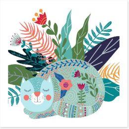 Fun Gardens Art Print 245296875