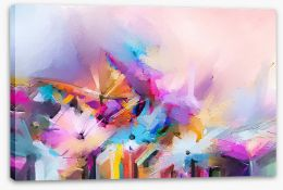 Abstract Stretched Canvas 245985594