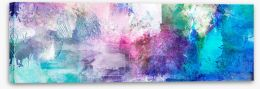 Abstract Stretched Canvas 249554815