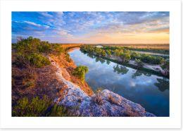 Rivers Art Print 250159754