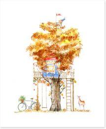 Fun Gardens Art Print 251137070