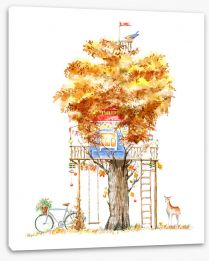 Fun Gardens Stretched Canvas 251137070