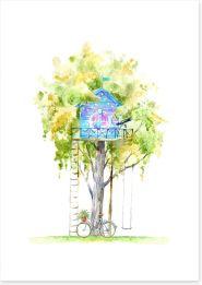 Fun Gardens Art Print 251201088