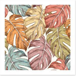 Leaf Art Print 251231372