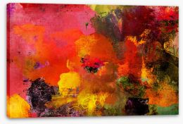 Abstract Stretched Canvas 252107774