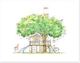 Fun Gardens Art Print 252270511