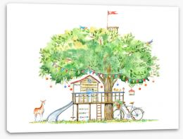 Fun Gardens Stretched Canvas 252270511
