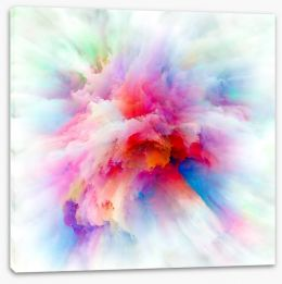 Abstract Stretched Canvas 252503926