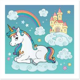 Fairy Castles Art Print 256627390