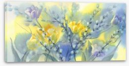 Watercolour Stretched Canvas 257922070