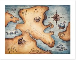 Pirates Art Print 258337133