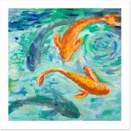 Bathroom Art Print 259493875