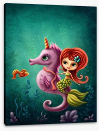 Under The Sea Stretched Canvas 261288532
