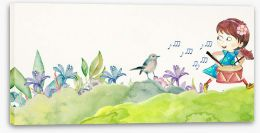 Fun Gardens Stretched Canvas 262886951
