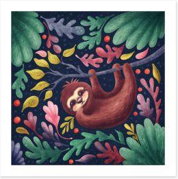 Animal Friends Art Print 265355427