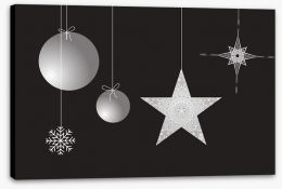 Christmas stars Stretched Canvas 26577561