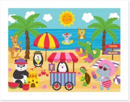 Animal Friends Art Print 268166403