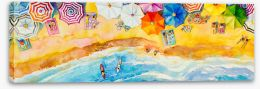 Beaches Stretched Canvas 268270514