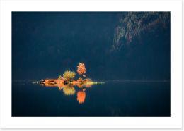 Lakes Art Print 270360719