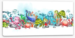 Under The Sea Stretched Canvas 271753962