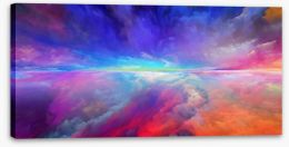 Abstract Stretched Canvas 272180535